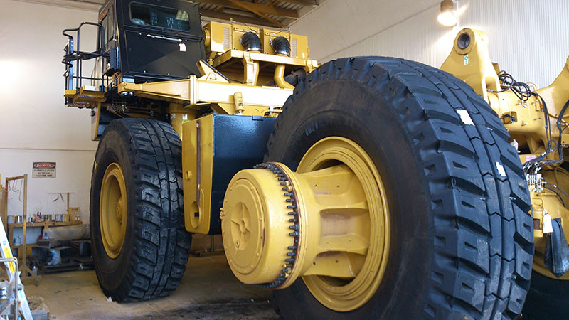 Protective Coatings for Mine Site Vehicles