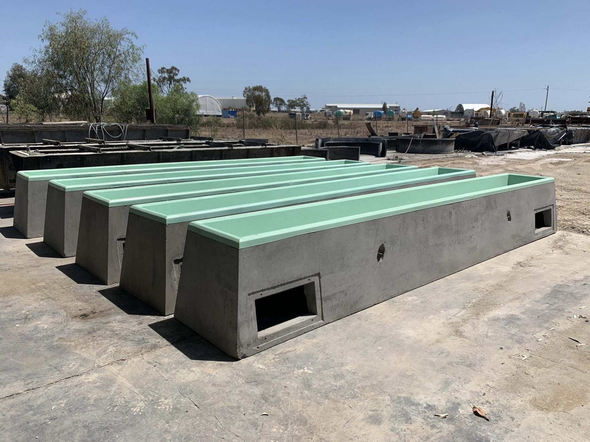 Feed Lots / Troughs